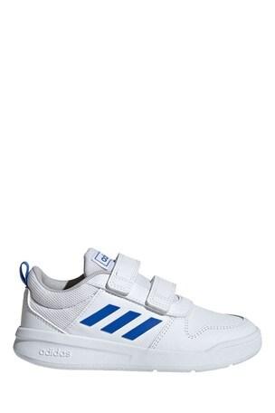 Buy adidas White/Blue Tensaur Junior