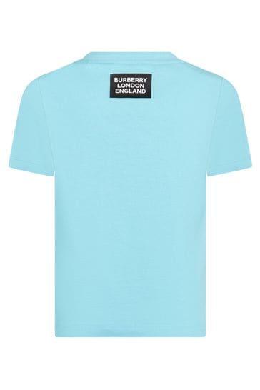 Kids Blue Cotton T-Shirt