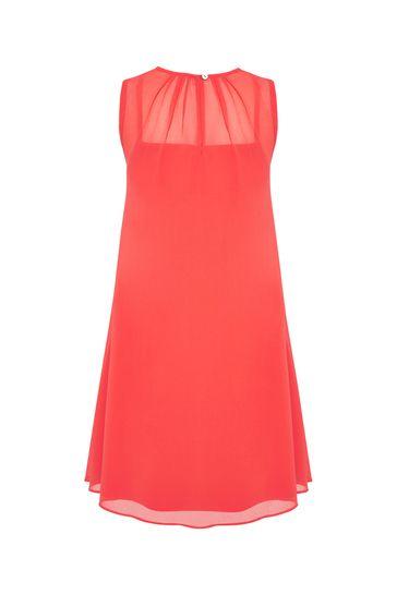 걸스 핑크 코튼 드레스