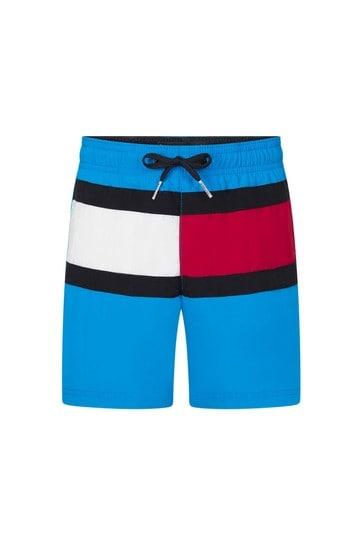 Tommy Hilfiger Boys Blue Swim Shorts