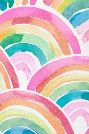 Girls Over The Rainbow Ruffle Sleeve Swimsuit