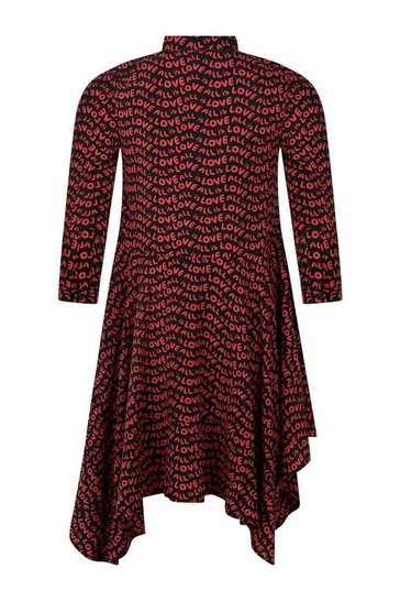Girls Red All Is Love Dress
