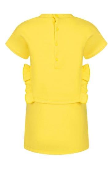 Baby Girls Yellow Cotton Dress