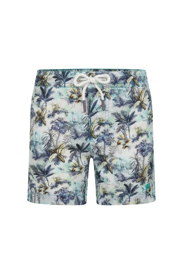 Boys Green Swim Shorts