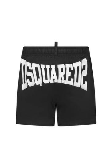 Boys Black  Swim Shorts