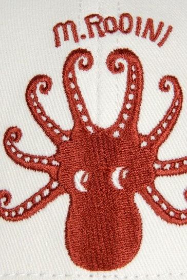 Girls Ivory Octopus Cap