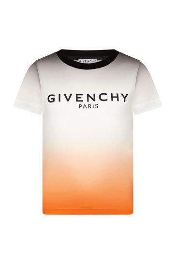 Boys Multi Cotton T-Shirt