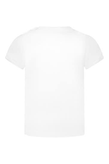 Dolce & Gabbana Baby Boys White Cotton T-Shirt