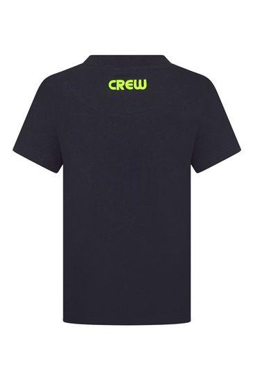 Kids Navy Cotton T-Shirt