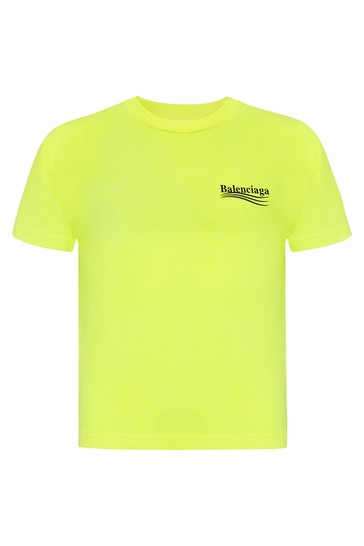 Kids Yellow Cotton T-Shirt