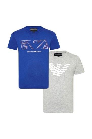 Blue T-Shirts Set