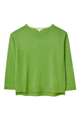 White Stuff Green Olivia Jumper