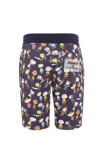 Boys Blue Cotton Shorts