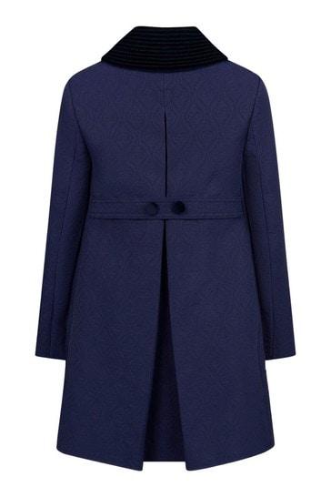 Girls Blue Coat