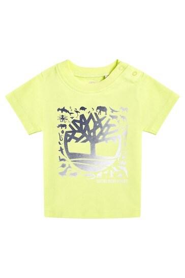 Baby Yellow Cotton T-Shirt