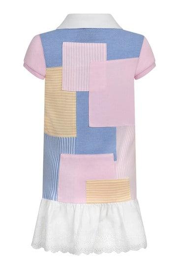 Girls Multi Cotton Dress