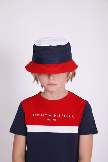 Tommy Hilfiger Boys Navy Cotton Hat
