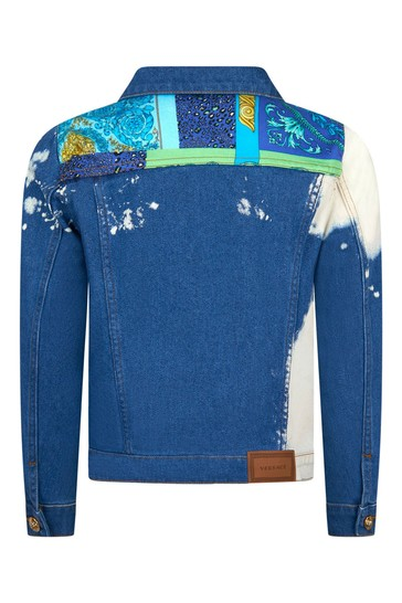 Boys Blue Cotton Jacket