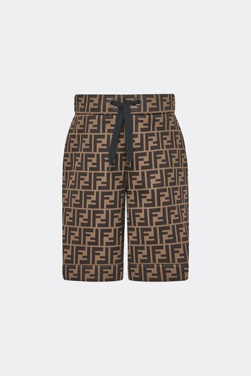 Boys Brown Shorts