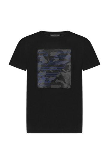 블랙 티셔츠