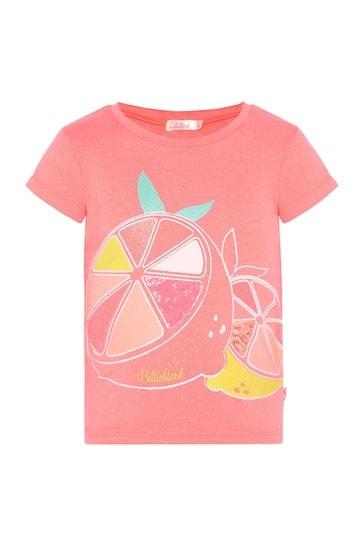 소녀 산호 티셔츠