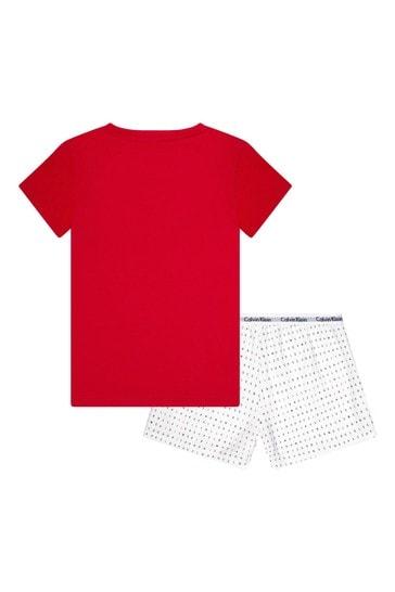 Red Cotton Pyjamas