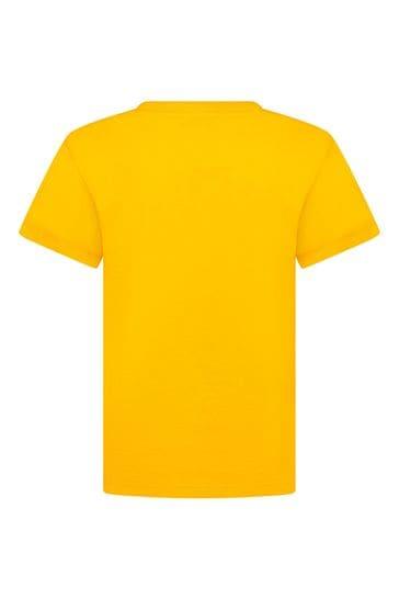 Dolce & Gabbana Boys Orange Cotton T-Shirt