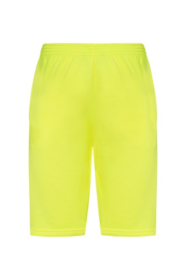 Kids Yellow Cotton Shorts