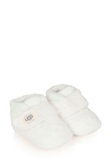 UGG White Bixbee Booties