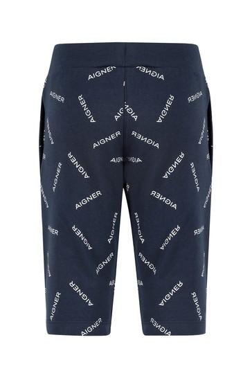 Aigner Baby Boys Navy Cotton Boys Shorts