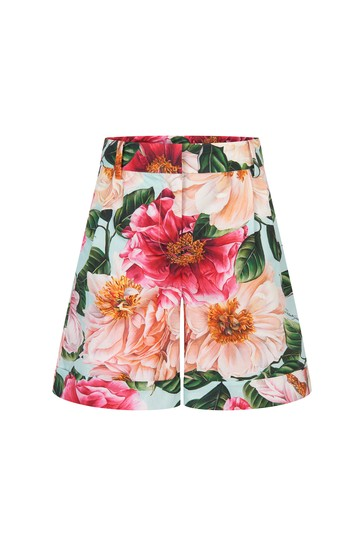 Dolce & Gabbana Girls Pink Cotton Shorts