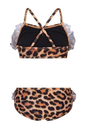 Molo Girls Animal Print Bikini