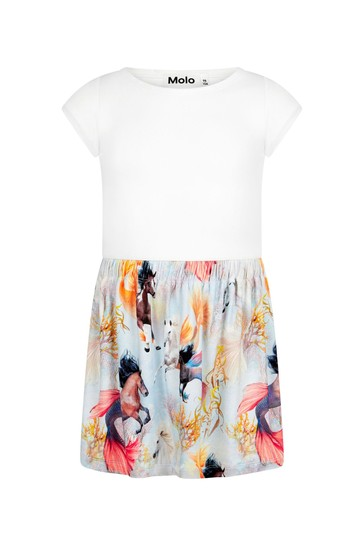 Girls White Dress