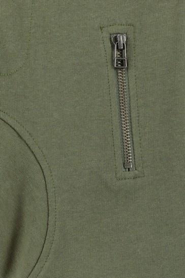 Boys Khaki Cotton Shorts