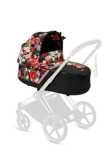 Dark Spring Blossom Priam Lux Carry Cot