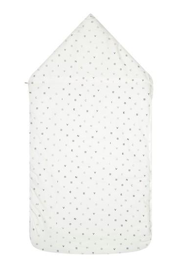 Baby White Cotton Sleep Bag