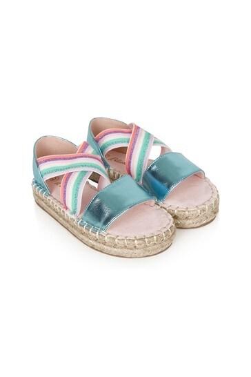 Girls Blue Sandals