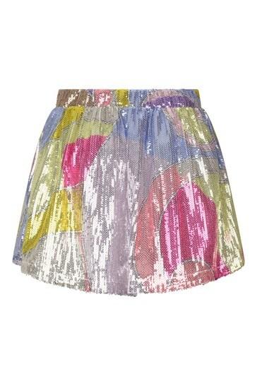 Girls Purple Skirt