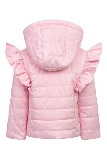 Baby Girls Pink Cotton Jacket