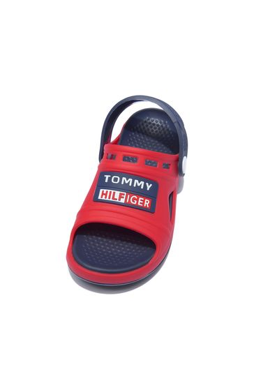 Boys Red Sandals