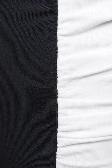 Girls Black And White Bikini