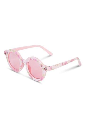 Girls White Sunglasses