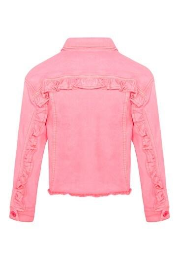 걸스 핑크 재킷