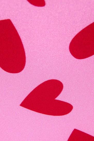 Pink Girls Pink Swimsuit