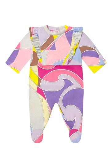 Baby Purple Cotton Gift Set