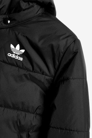 Buy adidas Originals Black Trefoil Padded Jacket from Next USA