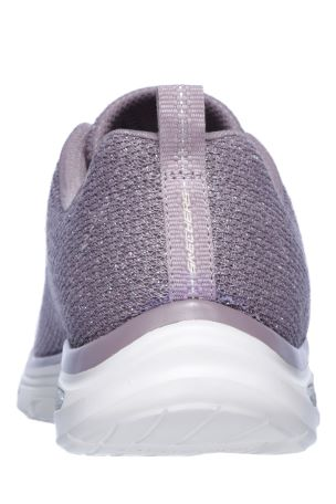 Buy Skechers® Purple Sparkle Flat Gore Bungee Slip On With