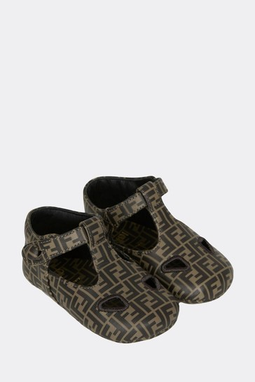 Baby Brown Leather Shoes
