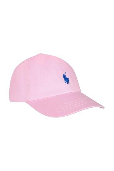 보이즈 핑크 코튼 햇