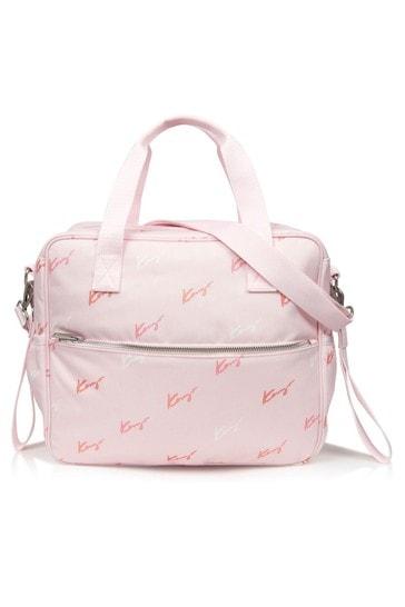아기 소녀 핑크 변경 가방